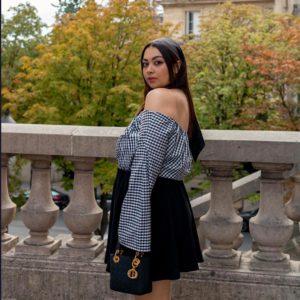 Melyssametissemodeuse influenceuse mode (luxe) française sur Youtube
