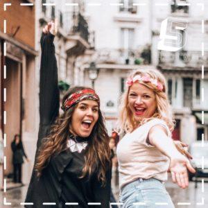 Les Pauline influenceuses voyage françaises sur Youtube