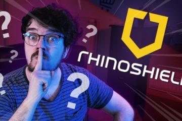 un creatif et rhinoshield