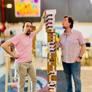 Les frères poulain influenceurs bricolage français sur Youtube