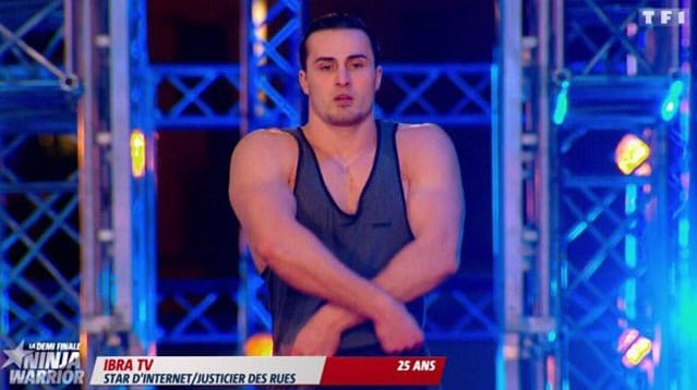 Ibra TV TF1 Ninja Warrior