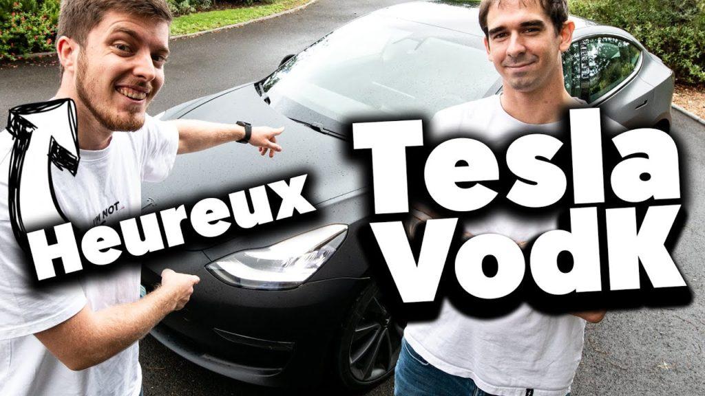 Tesla Youtubeurs